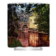 Leeds Castle Gatehouse And Moat Shower Curtain