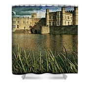 Leeds Castle In Kent Shower Curtain