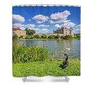 Leeds Castle Kent Shower Curtain