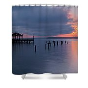 Leesylvania Morning Shower Curtain