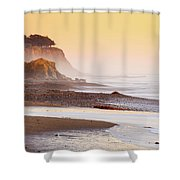 Leffingwell Landing Outcrop Shower Curtain