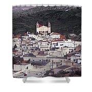Lefkes Greece Island Of Paros Shower Curtain