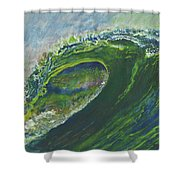 Left Of Ellicot Shower Curtain