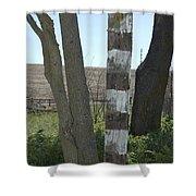 Left Shower Curtain