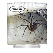 Leg Man Shower Curtain