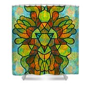 Legacy Lion Celebration2 Shower Curtain