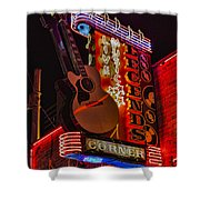 Legends Corner Nashville Shower Curtain