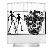 Legends  Of  Olden Times  Shower Curtain