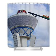 Lego Tower Shower Curtain