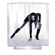 Legs Shower Curtain