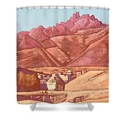 Leh, Ladakh Shower Curtain