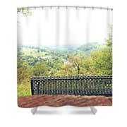 Lehigh Valley Zoo Shower Curtain
