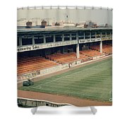 Leicester City - Filbert Street - Filbert Street End 2 - 1970s Shower Curtain