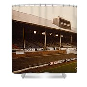 Leicester City - Filbert Street - Main Stand 2 - 1970s Shower Curtain