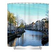 Leiden, Holland Shower Curtain