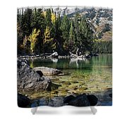 Leigh Lake Cove Shower Curtain