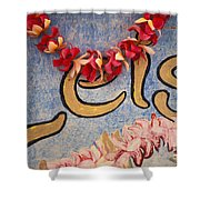 Leis For Sale Shower Curtain