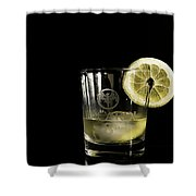 Lemon Bacardi  Shower Curtain
