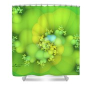 Lemon Juice Shower Curtain