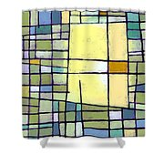 Lemon Squeeze Shower Curtain