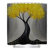 Lemon Twist Shower Curtain