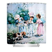 Lemonade Ladies Shower Curtain