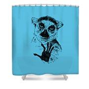 Lemur Shower Curtain