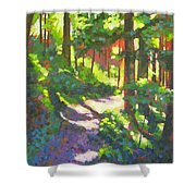 Lena Lake Trail II Shower Curtain