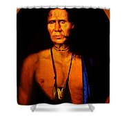 Lenape Chief Shower Curtain