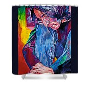 Lennon In Repose Shower Curtain