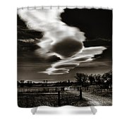 Lenticular Clouds Of Colorado Shower Curtain