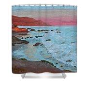 Leo Carillo Beach Afternoon II Shower Curtain