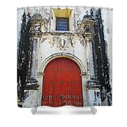 Leon Cathedral 9 Shower Curtain