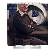 Leon Lederman, American Physicist Shower Curtain