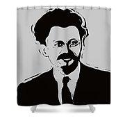 Trotsky Shower Curtain