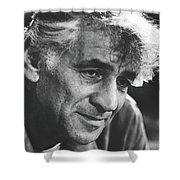 Leonard Bernstein 1970 Shower Curtain
