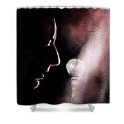 Leonard Cohen 01 Shower Curtain