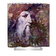 Leonardo Shower Curtain