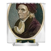 Leonhard Euler, 1707-1783 Shower Curtain