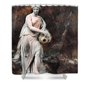 Leonor - Textured Version  Shower Curtain