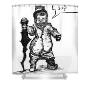 Leperchaun Shower Curtain
