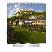Les Andelys France Shower Curtain