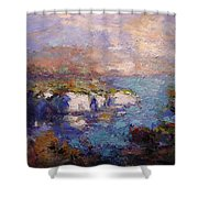 Les Calanques In Bright Light IIi Shower Curtain