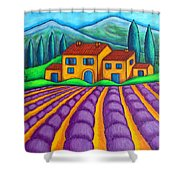 Les Couleurs De Provence Shower Curtain