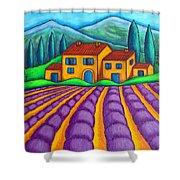 Les Couleurs De Provence Shower Curtain