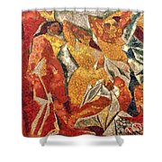 Les Demoiselles D'avignon Shower Curtain