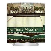 Les Deux Magots - #1 Shower Curtain