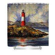 Les Eclaireurs Lighthouse Shower Curtain