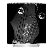 Les Paul Shower Curtain
