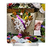 Lest We Forget Messages Shower Curtain